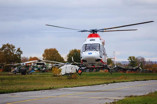 Казанский вертолетный завод отметился в меморандуме своим проектом по реконструкции аэродромной базы в Казани «Юдино»