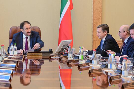 Премьер-министр РТ Алексей Песошин подписал инвестиционный меморандум республики — список проектов, которые правительство считает приоритетными и важными