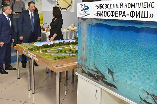 Остается в поле зрения татарстанского правительства и рыбоводный комплекс «Биосфера-Фиш»