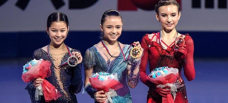 Камилла Валиева выиграла финал Гран-при