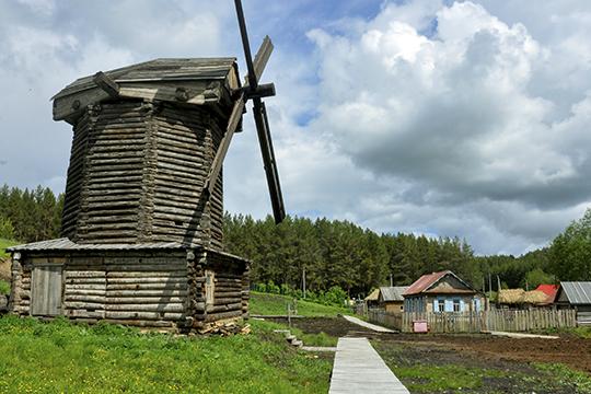 «Привезли изЧувашии ветряную мельницу, которой 150лет…»