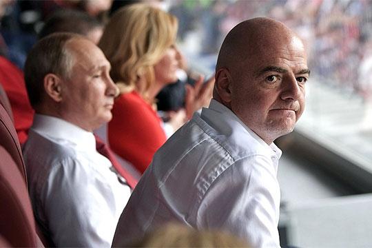 Football Leaks «мочит» УЕФА инамекает наПутина: Джанни Инфантино обвиняют вкоррупции