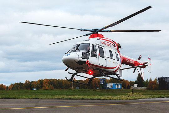 После демонстрации небольшого ролика о развитии в России санитарной авиации, глава минздрава РТ заверил, что к 2024 году министерство приобретет еще два санитарных вертолета «Ансат»