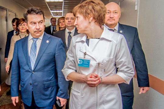 Марат Садыков: «Проект по развитию высокотехнологичной медицины уже сыграл свою роль...»