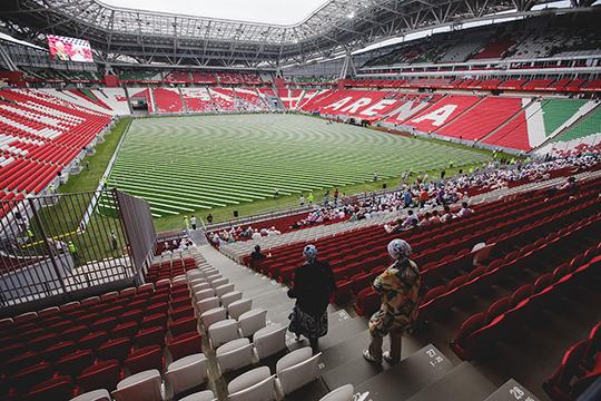 Бюджет шоу на«Казань Арене» выяснить неудалось, нопонятно, что затакие деньги можно сделать что-то поистине грандиозное, нетратясь намарафет