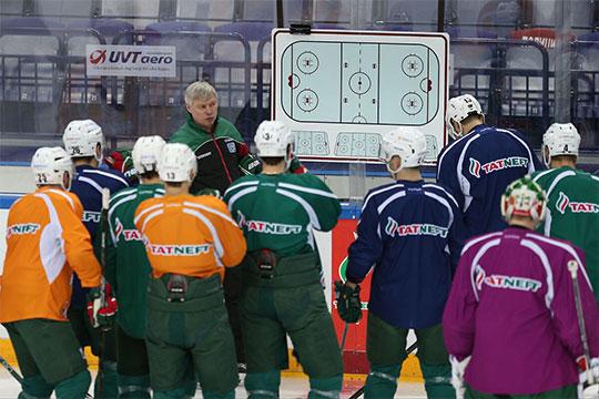 Впервые в сезоне Билялетдинов не участвовал в тренировке команды, которой руководил его ассистент Александр Смирнов