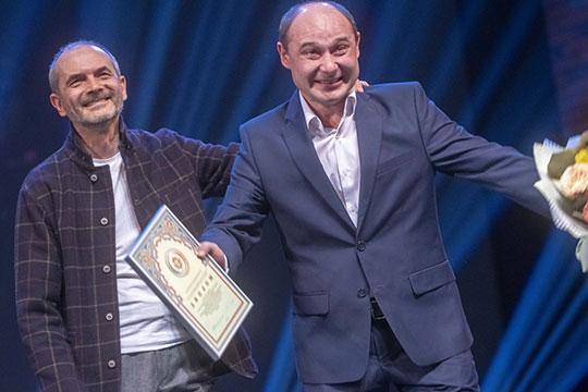Запомнилась и речь главы СТД РТ Фарида Бикчантаева (слева)