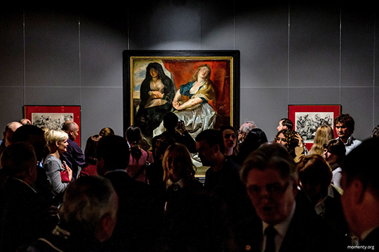 Экспозиция, состоящая из40 произведений живописи играфикионо уже гастролировалапомузеям Омска, КемеровоиЕкатеринбурга