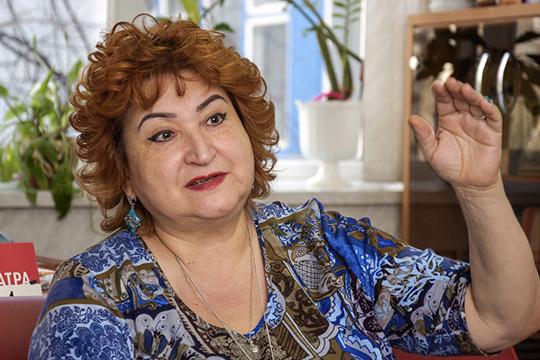 Зухра Митрофанова: «Размещение театра вшколе– мягко говоря, некомильфо»