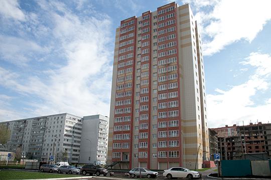 ВКазани состоялась официальная сдача 136-квартирного дома №4 поулице Четаева, застройщиком которого изначально была фирма «Свей»