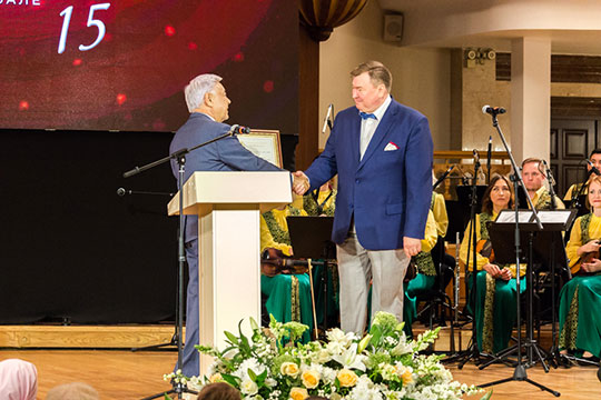 Рифата Фаттахов: «Фарида Мухаметшина можно назвать духовным наставником нашего фестиваля»