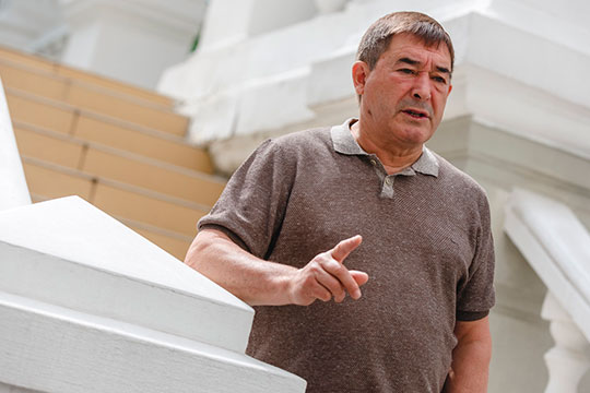 Салават Фатхетдинов: «Пост министра культуры Шаймиев предлагал мне два раза»