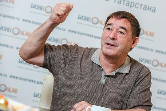 Салават Фатхетдинов: «Я бы назвал родной район Шакирова — Сармановский — районом Ильгама Шакирова»