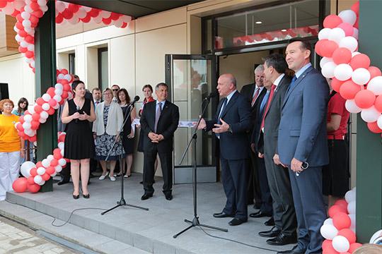 На строительство в Казани «Дома Роналда Макдоналда» было направлено более 120млн рублей (открылся в2013 году)