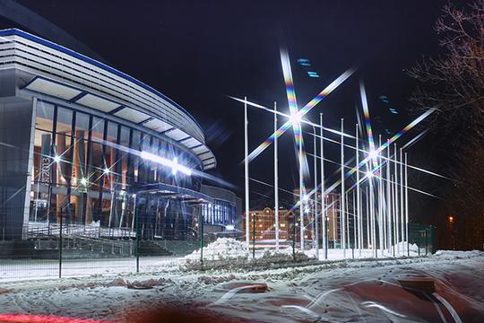 Компания освещала целые энергосберегающие кварталы, детские площадки имуниципальные детсады вКазани
