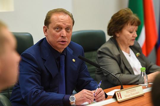 Входе прямой линии сгорожанами Айдар Метшинсделал заявление поповоду планов строительства завода попроизводству метанола ТАИФа