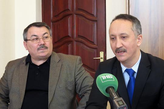 Фарит Уразаев и Марс Тукаев
