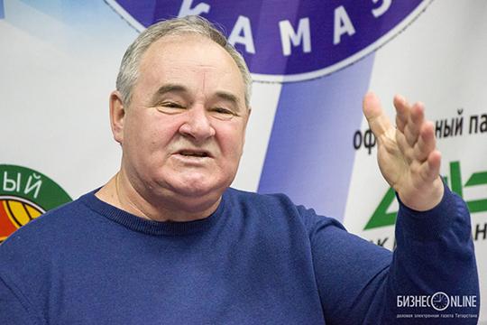 Как рассказал основатель и экс-главный тренер КАМАЗа Валерий Четверик, раньше игроки были вынуждены выступать в одном комплекте по несколько лет