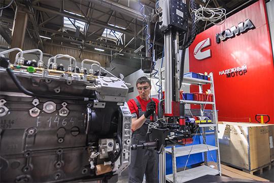 СП «Камминз Кама» с 13-летней историей производит для камазовских грузовиков «пламенный мотор»
