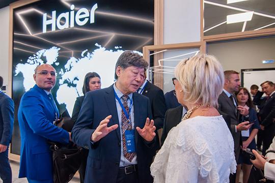 У челнинского завода холодильников компании Haier, львиная доля собственности зарегистрирована в Нидерландах под юрлицом «Хайер Юроп Эпплаенсис Холдинг Б в» и менее 0,1% — в Республике Корея