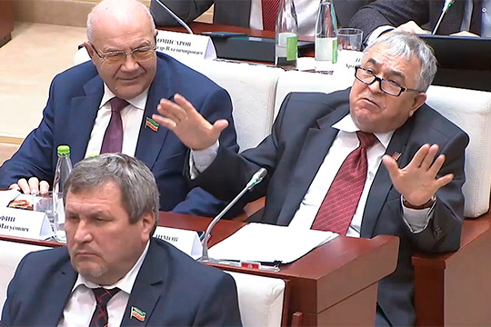 «Явообще небуду задавать вопрос!»: как Миргалимов хлопнул дверью вГоссовете