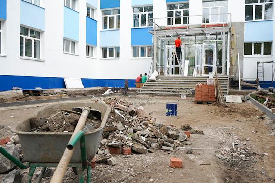 «Фортэкс», наряду с «Аркада Строй Универсал» в 2016 году получил заказ на строительство школы. Этот подряд ценой 315 млн стал вторым по величине госзаказом компании
