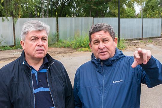 Пальму первенства среди частных компаний взял челнинский «Евростиль» Ильнара Гайсина с подрядами на 12,2 млрд рублей (справа)