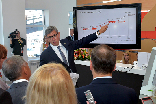 Как говорил Роман Шайхутдинов, всего должно быть цифровизировано 667 госуслуг, на сегодняшний же день, по данным минцифры РТ, в электронном виде реализовано только 247 сервисов