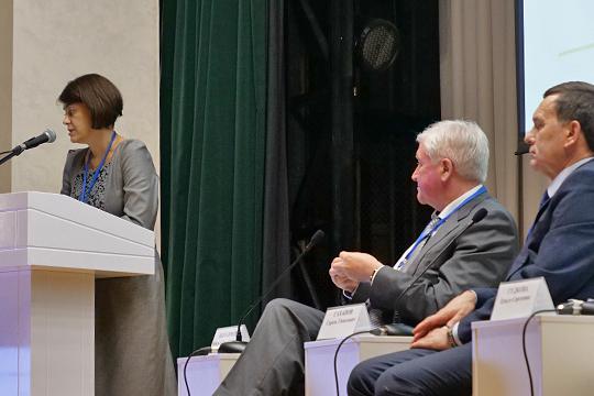 Ольга Гудкова отметила, что в ходе производства полностью отсутствует образование отходов 3 и 4 класса опасности, образование отходов 5 класса опасности незначительное