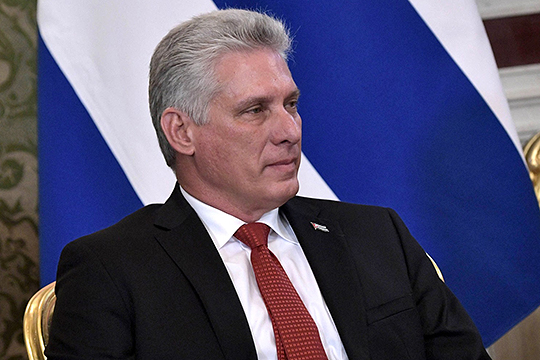 Президент Кубы Мигель Диас-Канель: «Выдающийся лидер Боливии, чьи коренные народы веками подвергались клевете, смог вывести страну в ряд государств с наиболее высоким ростом и резервами в регионе»