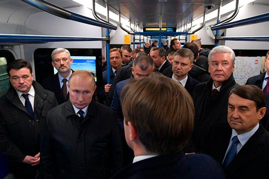 Путин резко высказался о подорожании медосмотра для водителей. Произошло это во время поездки в метро по первому Московскому центральному диаметру: «Чушь какая-то!»