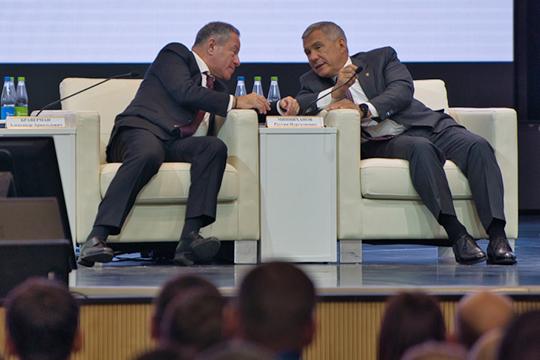Александр Браверман принял предложение Минниханова по поводу интеграции порталов