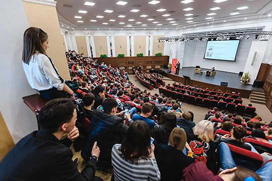 Насегодня КФУ представлен в8 предметных областях из11 возможных, вчастности, вуз занимает второе после МГУ место вРоссии понаправлениям «Медицина» и«Социальные науки»