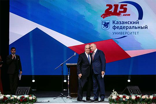 На этой неделе Казанский федеральный университет встречал свой очередной день рождения, отметив его с размахом. На праздничном вечере в «Корстоне» взял слова и Минтимер Шаймиев