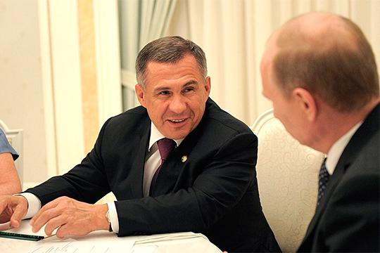 «Я слышал много вариантов о будущей судьбе Минниханова: оставить все как есть, отправить его на хозяйственную работу, сделав федеральным министром, или на дипломатическую работу, скажем, послом России в Турции, и еще что-то…»