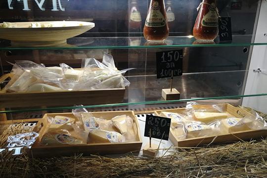 «Сулугуги»— первое вКазани заведение, позиционирующее себя как ресторан-сыроварня