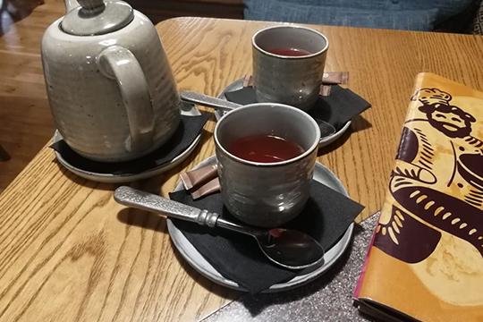 Брусничный чай счили