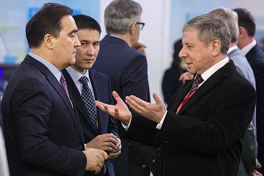 Уменьшилось влияние группы гендиректора «Сетевой компании» Ильшата Фардиева (слева). В середину нашего рейтинга ушел еще недавно сверхвлиятельный экс-гендиректор «Газпром трансгаз Казань» Рафкат Кантюков (справа)