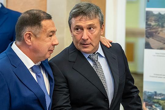 Очень интересен феномен Равиля Зиганшина (справа), гендиректора ПСО «Казань». 10 лет назад его вообще не было в нашем Топ-100, но сейчас он периодически попадает в первую десятку