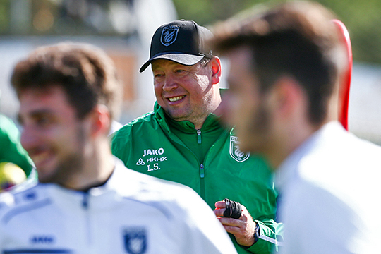 На вопросы читателей ответит главный тренер футбольного клуба «Рубин» Леонид Слуцкий