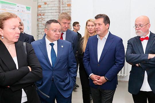 Работа конкурсного жюри, в состав которого вошли главный архитектор КазаниТатьяна Прокофьеваи мэр КазаниИльсур Метшин,завершилась еще вчера