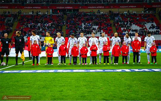 На матч «Рубина» пришло 5750 зрителей