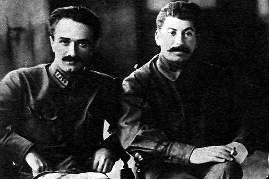 Анастас Микоян и Иосиф Сталин, 1925 год