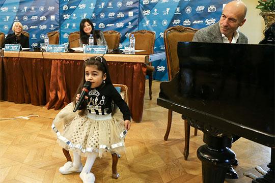 «Хочу, чтобы Игорь Крутой написал для меня песню»,— поделилась своей мечтой 11-летняяВалерия Сайкова