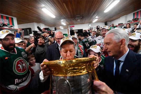 2018-й год стал триумфальным для Маганов в качестве президента ХК «Ак Барс», который выиграл кубок Гагарина. В этой награде есть немалый вклад самого гендиректора «Татнефти»