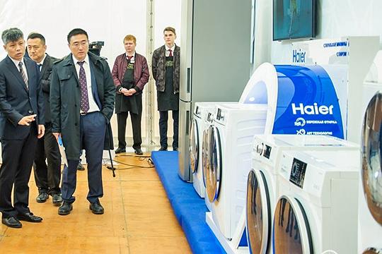 Сенсация: напятом месте, сразу закомпаниями автопрома, оказалось предприятие китайского промышленного концерна Haier, производящего бытовую технику