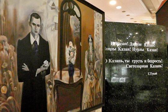 Больше всего основателей музея волнует судьба монументальных сооружений, выполненных навсю стену различными художниками