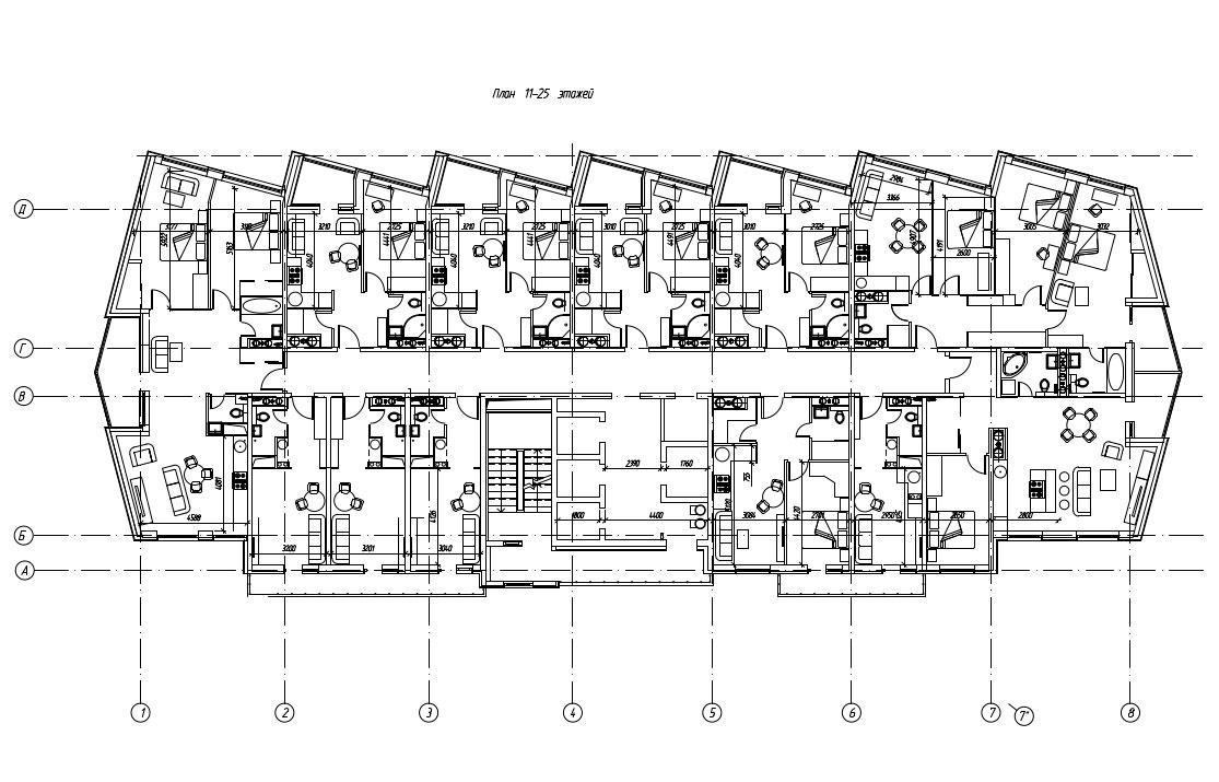 Напервых двух этажах апарт-отеля разместятся ресторан, фитнес- иконференц-залы, лобби-бар. Площадь номеров варьируется от24 кв.м (студия) до100 кв.м (трехкомнатная квартира)