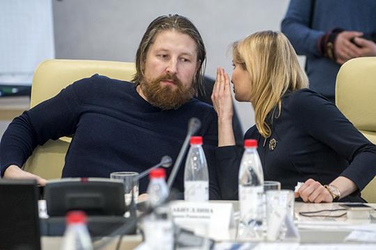 Главный доклад представил руководитель проектной группыОлег Маклаков