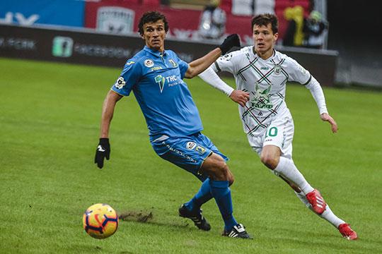 Роман Ерёменко забил два гола с одной и той же точки
